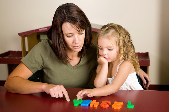Занятия с ребёнком