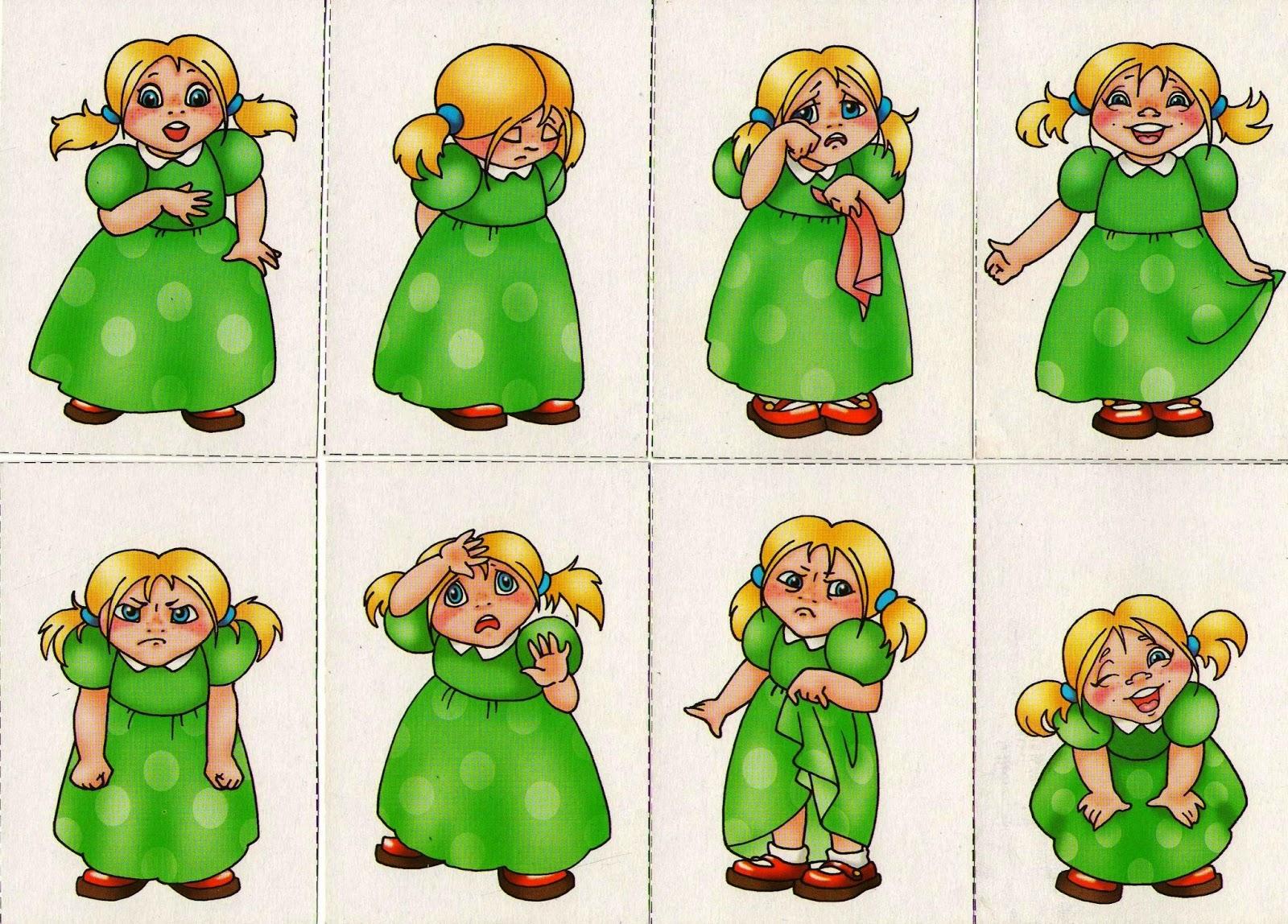 Эмоции детям картинка