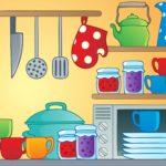 Дидактическая карточка посуды