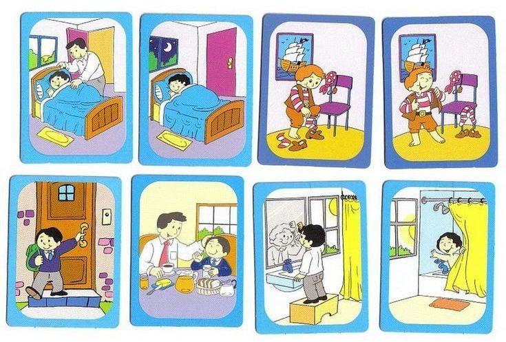 Картинка с действиями для детей