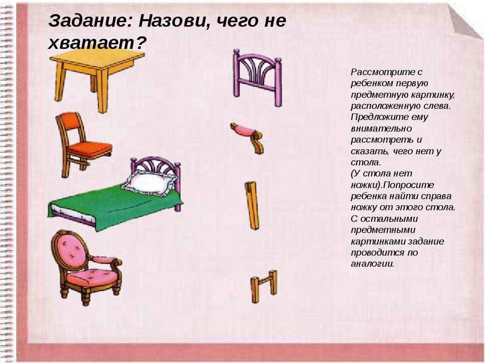 мышление с картинками мебель топ