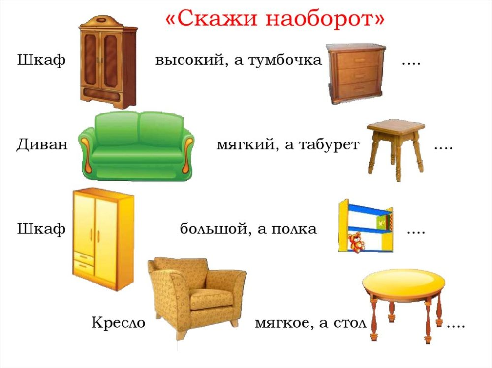 видеокамерах картинки для игры на тему мебель пользователи выполнят