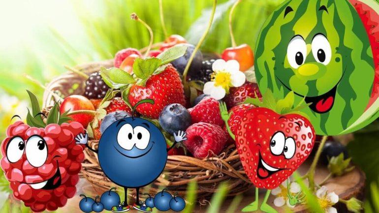 Детские загадки про ягоды