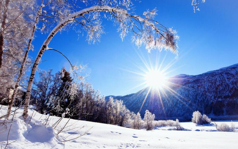 Зимние стихотворения для детей