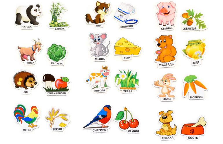 Дидактическая игра про животных для детей