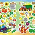 Дидактическая игра «Урожай»