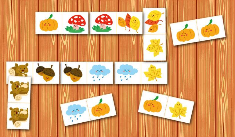 «Домино» – познавательная и коммуникативно развивающая игра для дошкольников