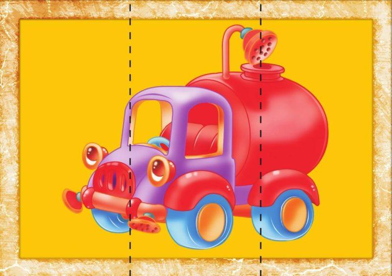 «Собери картинку» – настольная игра для дошкольников для развития памяти и мышления