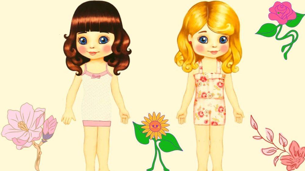 Игра «Одень куклу» для обучения дошкольников умению подбирать гардероб