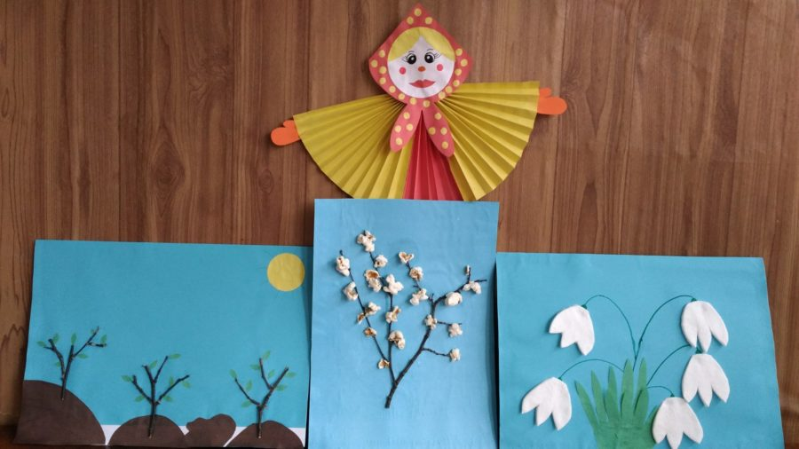 Поделки и аппликации на тему «Весна» для дошкольников всех возрастных групп